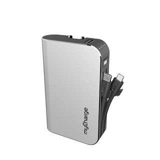 myCharge HubPlus C 6700mAh Portable Charger with Built-In USB-C Micro-USB Cable