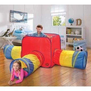 Discovery 3-in-1 Indoor/Outdoor Play Tent and Tunnels