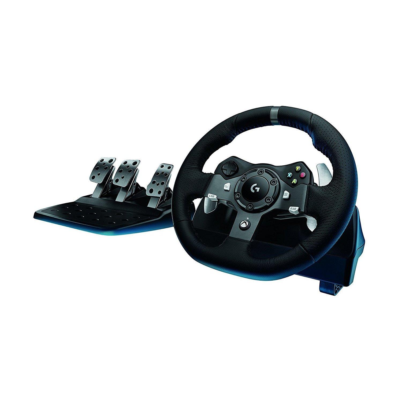 Logitech G920 Driving Force Racing Wheel, Black #941-000121