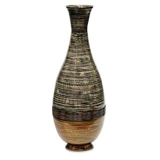 "Heather Ann Creations Lila 27"" Spun Bamboo Floor Vase"