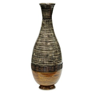 "Heather Ann Creations Lila 27"" Spun Bamboo Floor Vase"