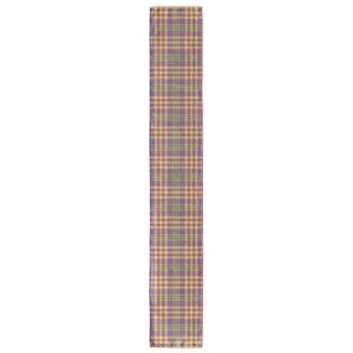Kavka Designs Floral Plaid Table Runner
