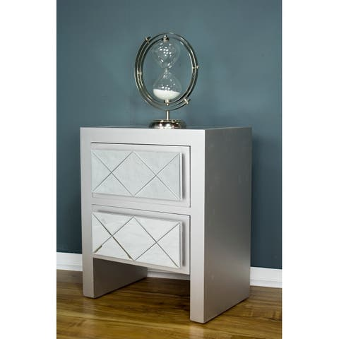 Heather Ann Creations Kayla 2 Drawer Accent Cabinets