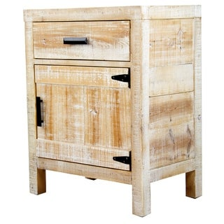 Heather Ann Creations Dillon 1 Drawer 1 Door Accent Cabinet