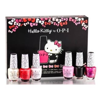 Opi Hello Kitty 6 Piece Collector S Edition Nail Polish Set