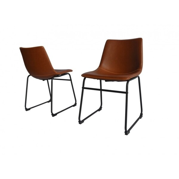 Shop Best Quality Furniture Faux Leather Dining Chair (Set