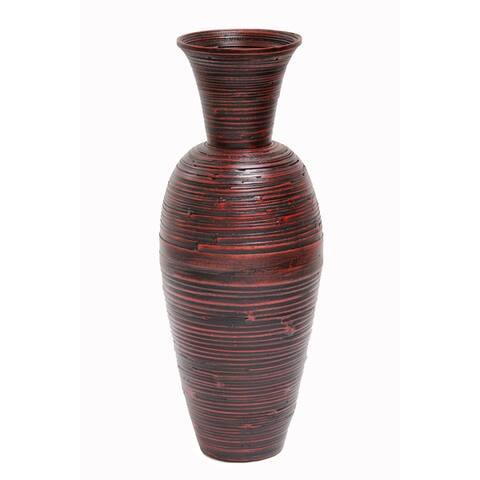 """Heather Ann Creations Kiera 27"""" Spun Bamboo Floor Vase"""
