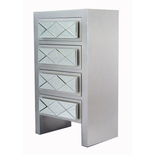 Heather Ann Creations Kayla 4 Drawer Accent Cabinets
