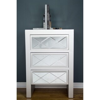 Heather Ann Creations Kayla 3 Drawer Accent Cabinets