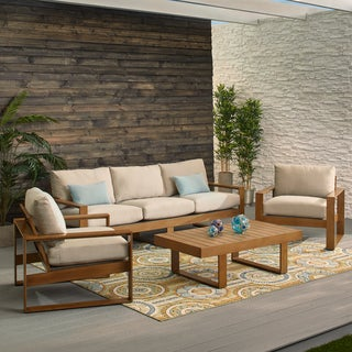 Oliver & James Blue Water Sofa Group