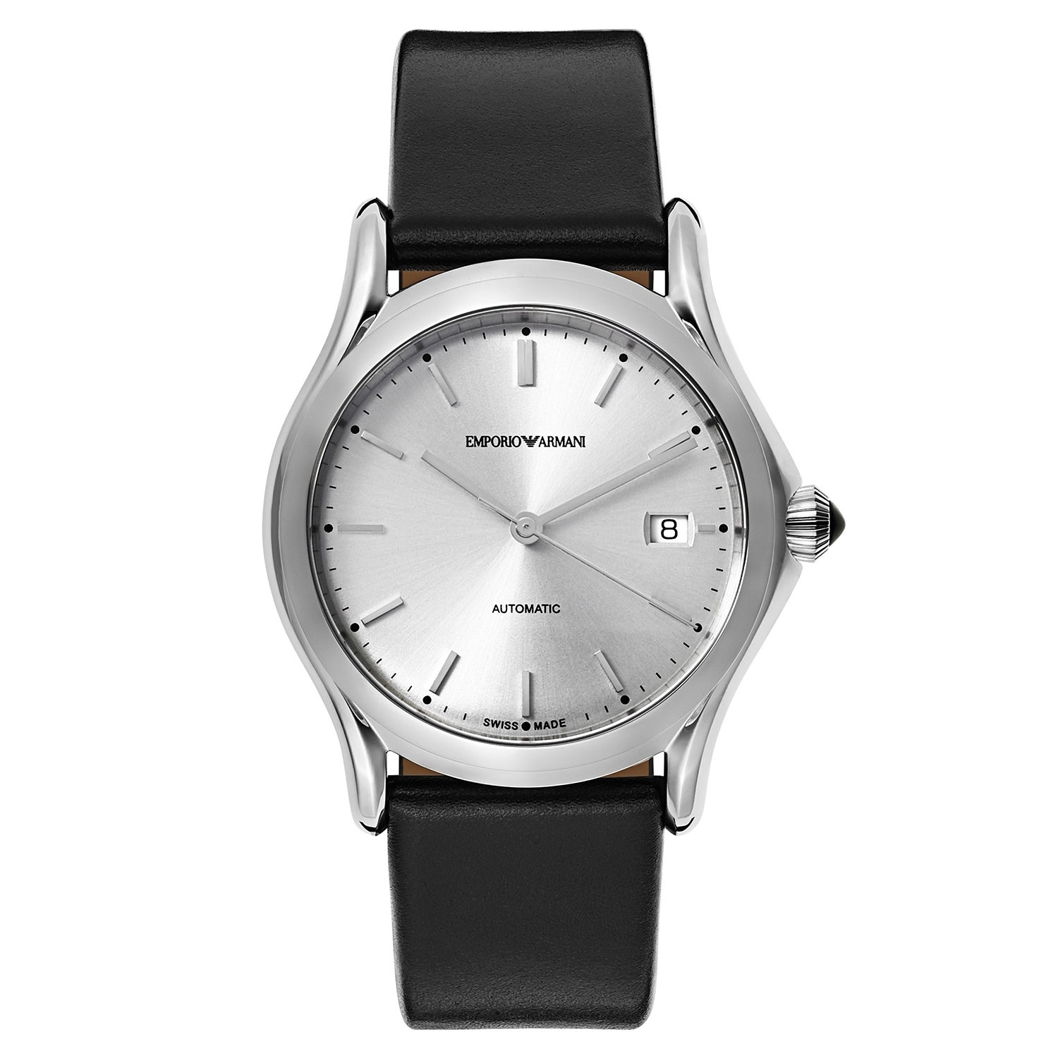 Emporio Armani Classic Men's Automatic Watch ARS3102, Sil...