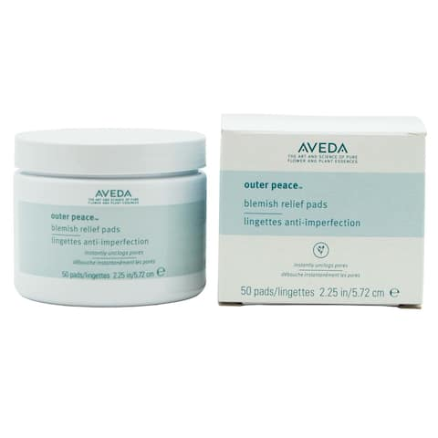 Aveda Outer Peace Blemish Relief Pads (Pack of 50)