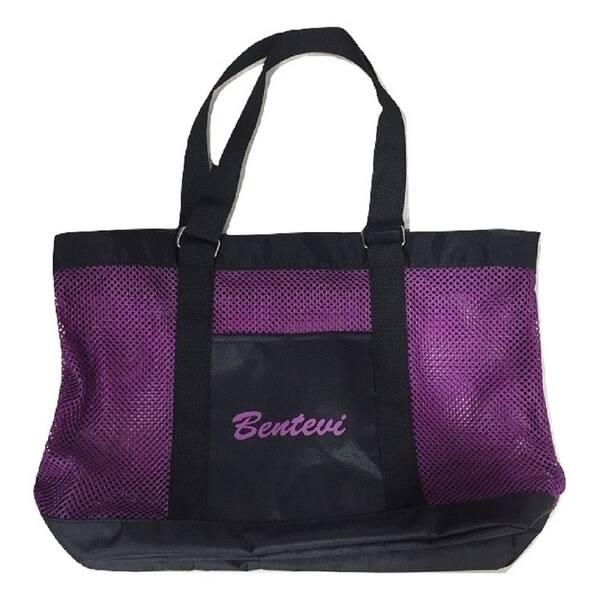 Mesh Beach Bags Toy Tote Bag Zippered Swim