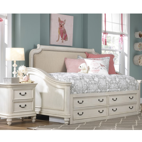 Shop Pulaski Madison Youth White Wood Twin Day Bed With