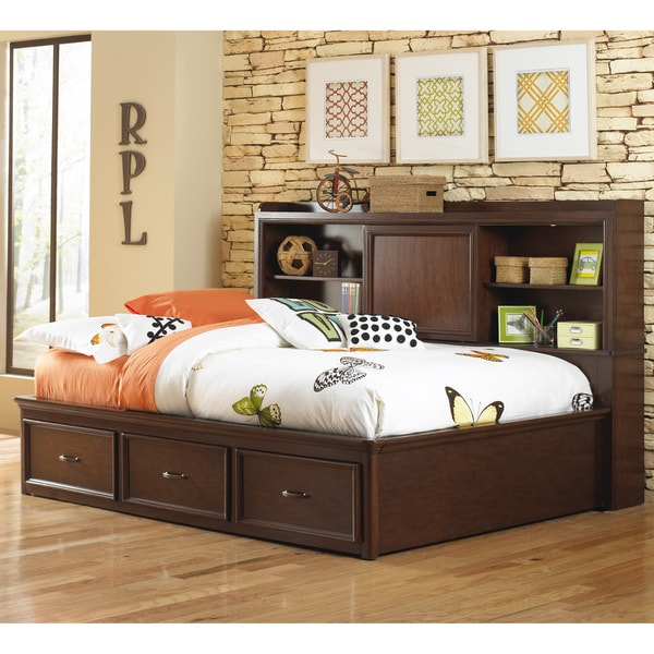 Expedition Youth Brown Wood Full-size Lounge Bed