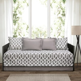 Link to Lush Decor Edward Trellis 6 Piece Daybed Cover Set Similar Items in Daybed Covers & Sets