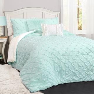 Lush Décor Ravello Pinktuck Comforter Set