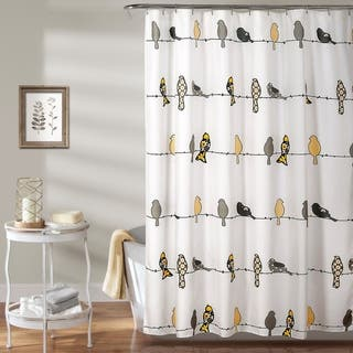 Buy Yellow Shower Curtains Online At Overstock