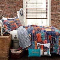 The Curated Nomad Electa 5-piece Quilt Set