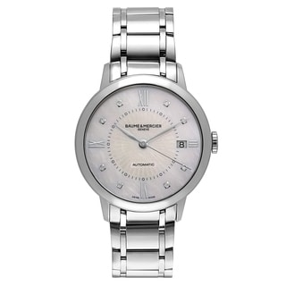 Baume and Mercier Classima Executives Women's Automatic Watch MOA10221