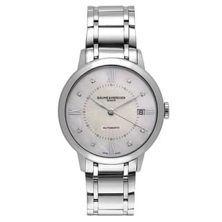 Baume and Mercier Classima Executives Women's Automatic Watch MOA10221|https://ak1.ostkcdn.com/images/products/17798247/P23993282.jpg?impolicy=medium