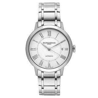 Baume and Mercier Classima Executives Women's Automatic Watch MOA10220|https://ak1.ostkcdn.com/images/products/17798265/P23993293.jpg?_ostk_perf_=percv&impolicy=medium