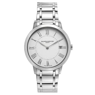 Baume and Mercier Classima Executives Women's Quartz Watch MOA10261|https://ak1.ostkcdn.com/images/products/17798267/P23993277.jpg?impolicy=medium