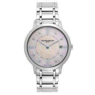 Baume and Mercier Classima Executives Women's Quartz Watch MOA10225