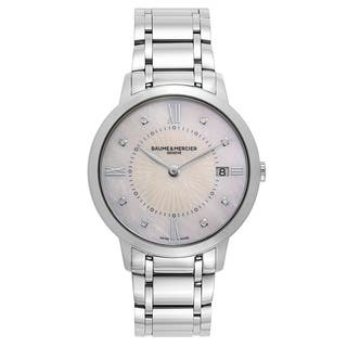 Baume and Mercier Classima Executives Women's Quartz Watch MOA10225|https://ak1.ostkcdn.com/images/products/17798268/P23993291.jpg?impolicy=medium