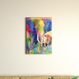 Richard Wallich 'Elephant 1' Canvas Art