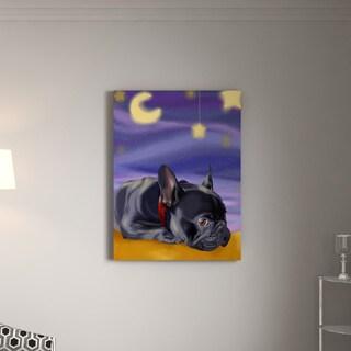 Porch & Den Brian Rubenacker French Sleep Canvas Print Wall Art