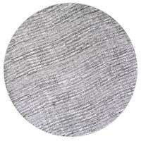 Porch & Den Williamsburg Humboldt Handmade Flatweave Striped Cotton Grey Rug (7'6 Round)