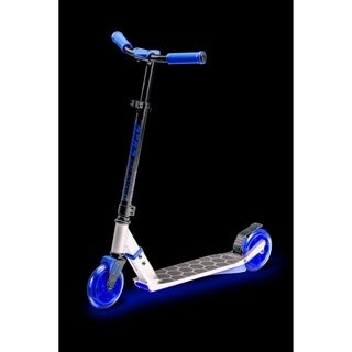 Neon Flash Scooter - Blue