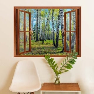 "Spring Forest Removable Wall Sticker Wall Mural - 36""x 48"" Wall Vinyl"