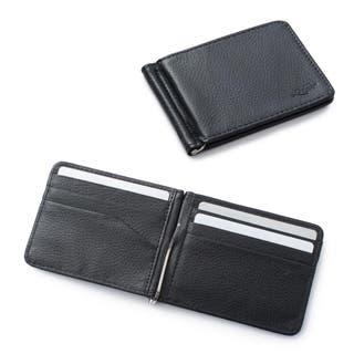Mens wallets for less overstock zodaca mens slim bifold leather wallet purse credit card holder executive business card case with removable colourmoves