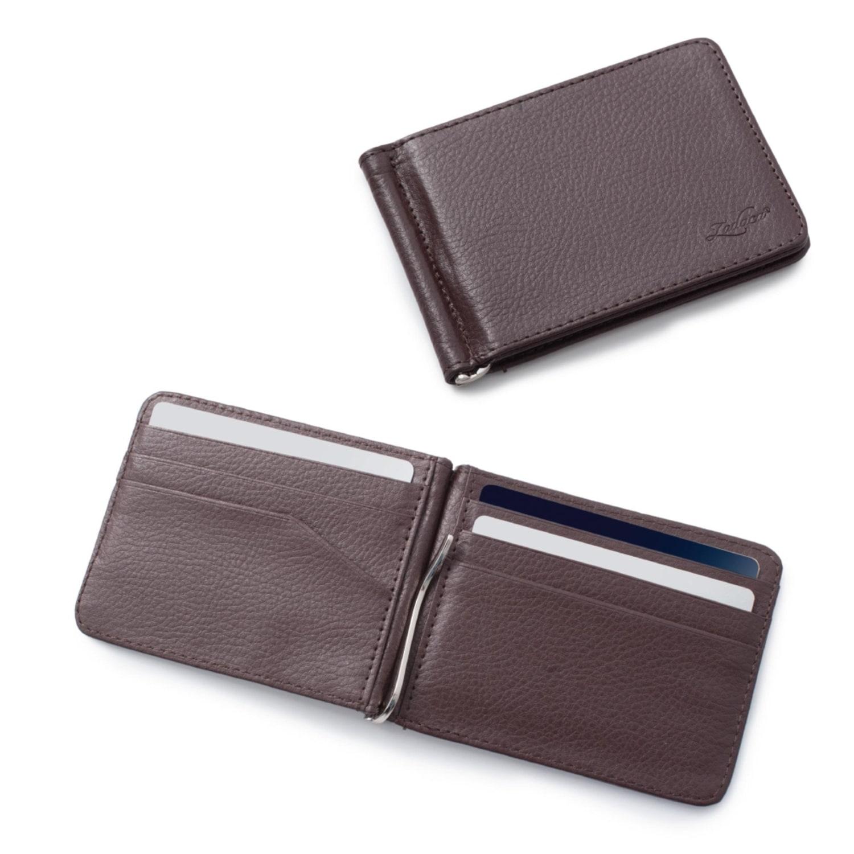 Bill Wallet Credit Card Men Cash Holder Stainless Steel Pocket Money Clip