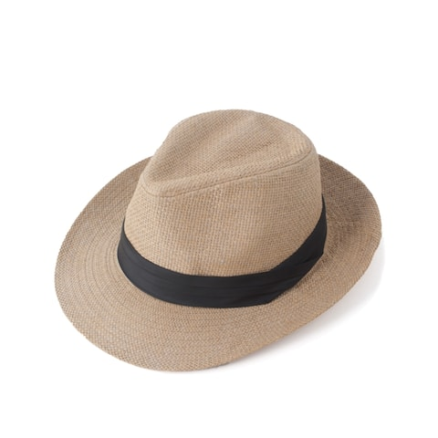 Zodaca Unisex Classic Foldable Space-saving Brimmed Outdoor Summer Beach Straw Hat Cap For Women/ Men
