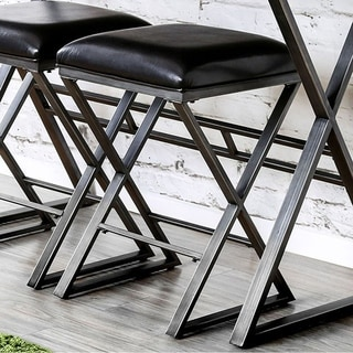Glasby Industrial Bar Stool Set Of 2
