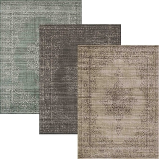 Corina Medallion Area Rug - 5'3 x 7'3
