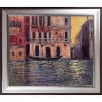 Claude Monet 'Palazzo Dario 3, 1908' Hand Painted Oil Reproduction