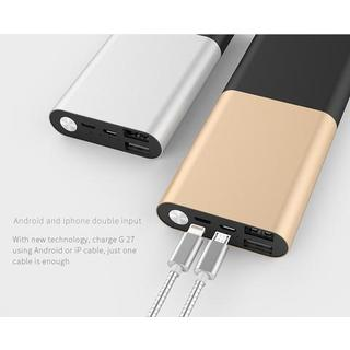 LAX Pro Series 12,000mAh Dual USB Port Power Bank External Backup Battery (4 options available)