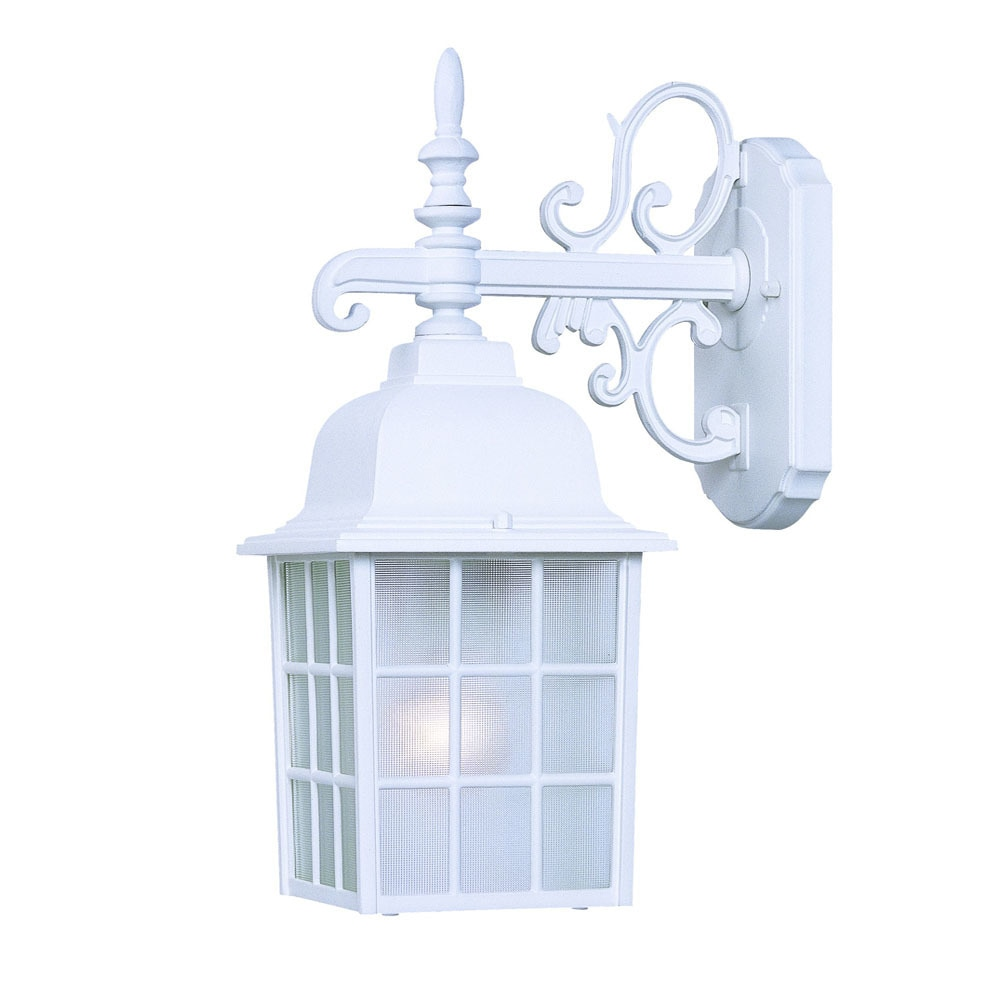 Acclaim Nautica Collection 1-Light Outdoor Textured White...