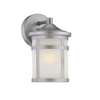Acclaim Austin Collection 1-Light Outdoor Brushed Silver Wall Light