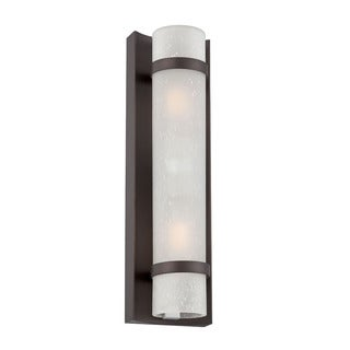 Acclaim Apollo Collection 2-Light Outdoor Architectural Bronze Wall Light