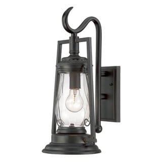 Acclaim Kero Collection 1-Light Outdoor Matte Black Wall Light
