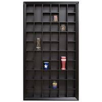 Large 32x17 Black Shot Glass Case