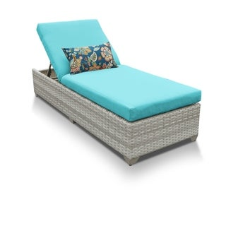 Catamaran Outdoor Patio Wicker Chaise Lounge