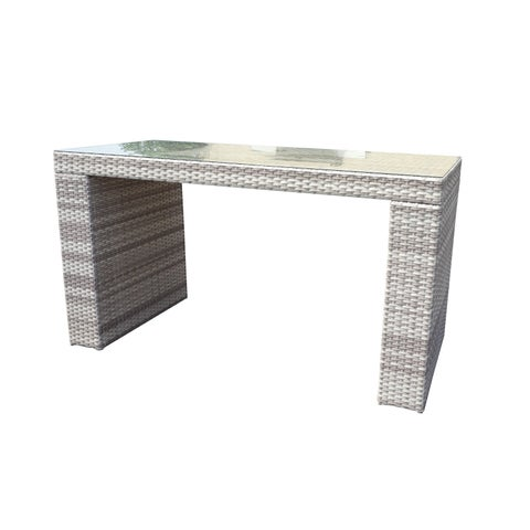 Catamaran Outdoor Patio Wicker Bar Table