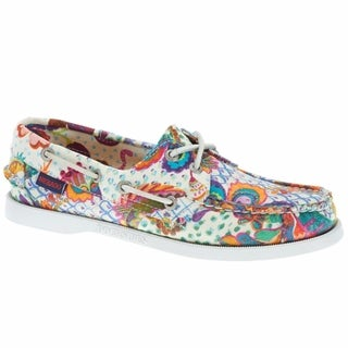 Sebago Women's Docksides Boat Shoes Grand Bazaar Print
