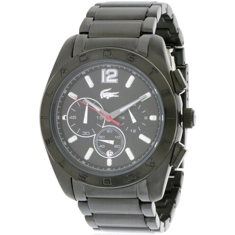Lacoste Panama Chronograph Black Unisex Watch